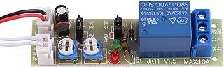 1pc Adjustable Switch Cycle Timer Delay On/Off Switch Relay Module DC 5V/12V/24V 0-15min/0-60min (DC12V,0-60min)