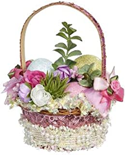 Mark Roberts Easter Basket with Easter Eggs, 51-97686-E