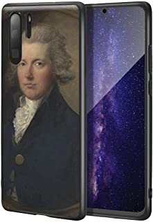 Thomas Gainsborough Huawei P30 Pro用ケース/ファインアート携帯電話ケース/高解像度ジクレーレベルUV複製プリント、携帯電話カバー(ウィリアム・ピット)