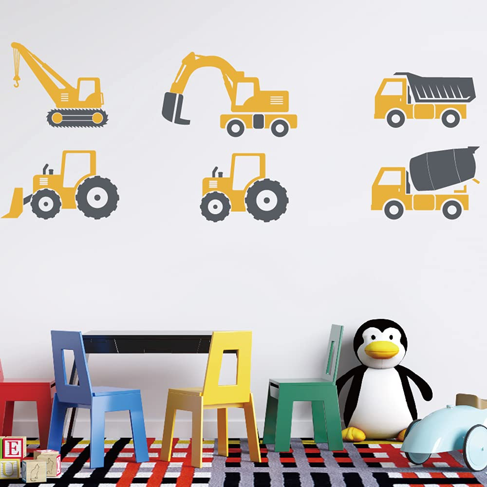 Columbus Mall Talkkmywall Trucks Wall outlet Decal Decals Mi Garbage Excavator