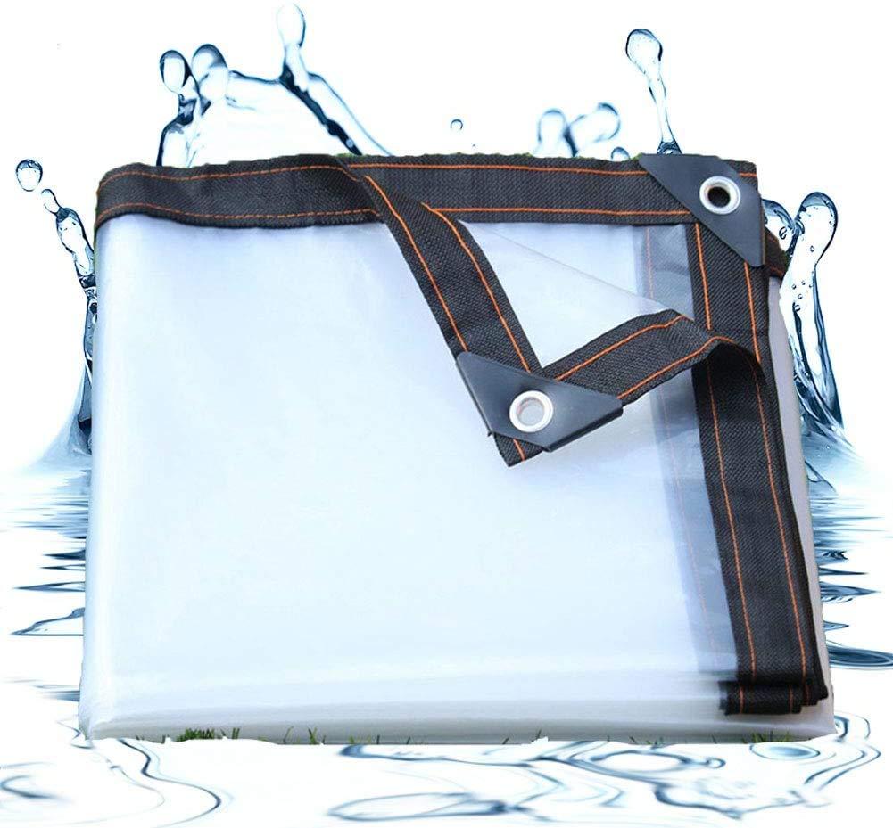 W&HH SHOP Onas Impermeables Exterior Transparente, Lona ...