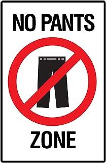 no pants zone