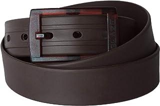 حزام بلاستيكي من بليز - أحزمة مطاطية قابلة للتعديل للنساء والرجال - حزام ملون مقاوم للماء خالٍ من المعدن للكاجوال والعمل
