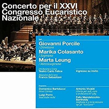 Archivi del Teatro Carlo Felice, vol. 2; Concerto per il XXVI Congresso Eucaristico Nazionale