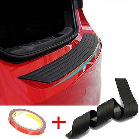 Jinyjia Stoßstangenschutz Gummi Heckstoßstange Gummi Streifenschutz Für Die Hinteren Kofferraumwanne Anti Kratz Gummi Passform Für Die Meisten Autos Auto