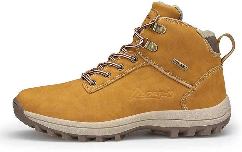 WDDGPZYDX Sports shoes Snow Boots Men Plus Size 47 46 Winter Autumn Ankle Boots Warm Winter shoes Waterproof