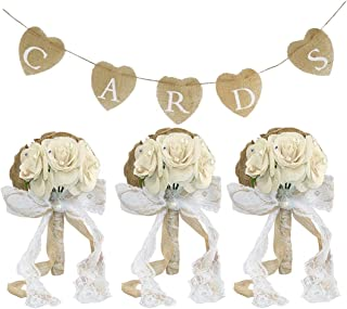 Best burlap and lace wedding decorations Reviews
