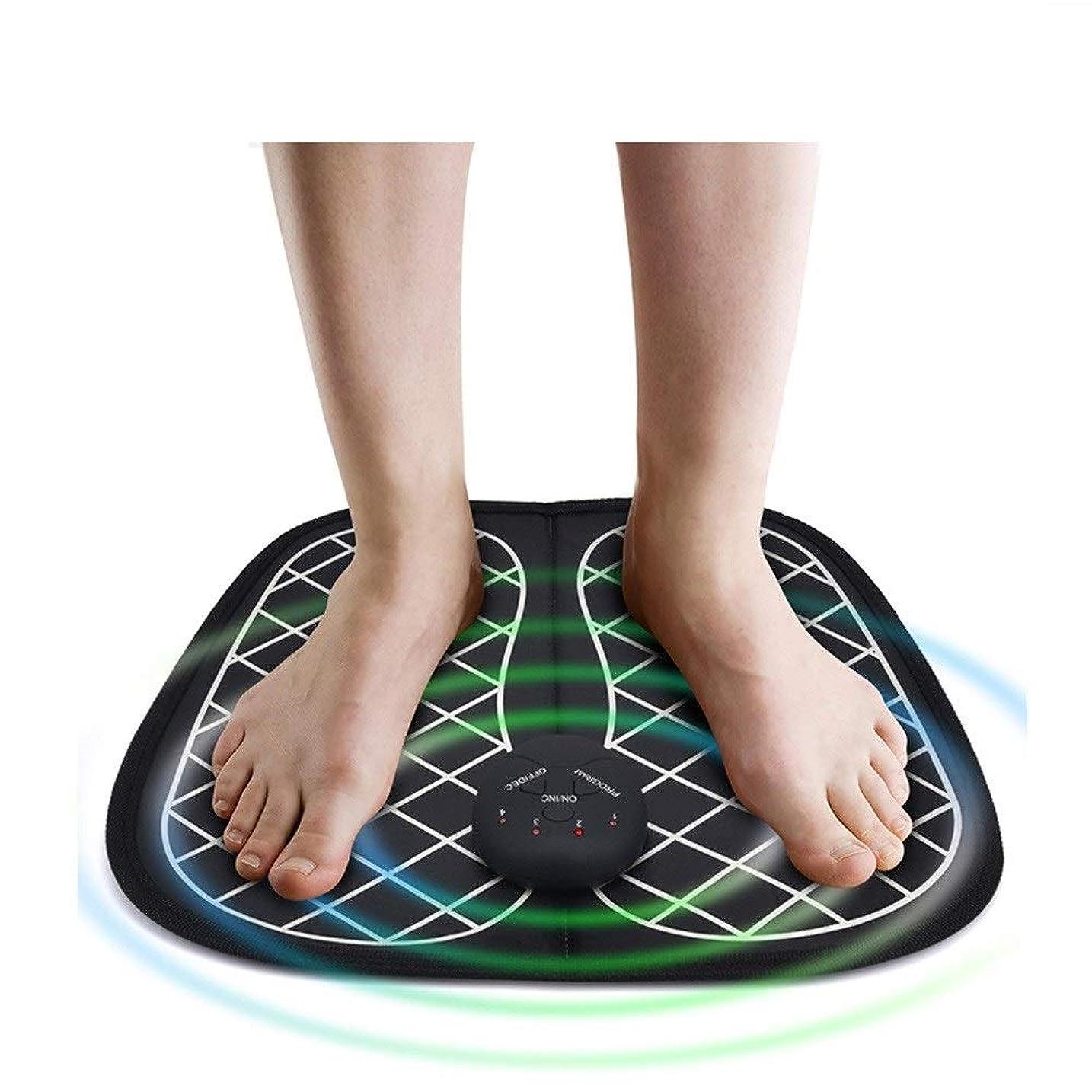 インレイ飢饉支出電気EMSの足筋肉刺激物のマッサージャーの無線低頻度の足の理学療法のABS刺激物