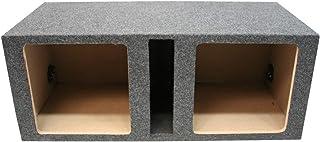 American Sound Connection Car Audio Dual 15' Vented Square Sub Box Enclosure fits Kicker L7 Subwoofer