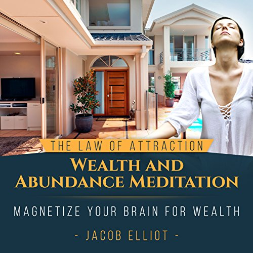 The Law of Attraction Wealth and Abundance Meditation audiobook cover art