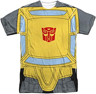 Transformers Bumblebee Costume Unisex Adult Sublimated T Shirt for Men and Women