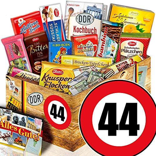 Geschenkidee zum 44. / 44 Geburtstag witzige Geschenke / DDR Ostpaket