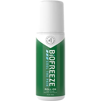 Biofreeze Pain Relief Roll-On, 3 oz. Roll-On, Fast Acting, Long Lasting, & Powerful Topical Pain Reliever (Packaging May Vary)