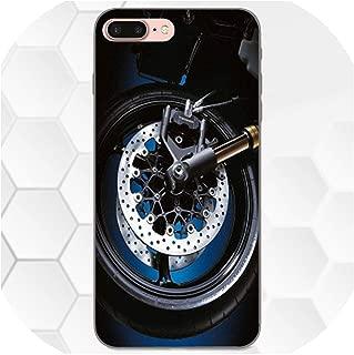 オートバイスズキGSXR 1000用for Huawei名誉を楽しむメイトノート6s 8 9 10 20 Lite Play Pro Pスマートプリント携帯電話シェル,For Huawei P smart,as picture7
