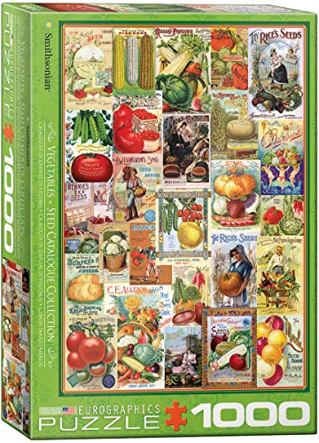 "Eurographics Puzzle ""Vegetables Seed Catalogue"" (1000 Teile, Mehrfarbig)"