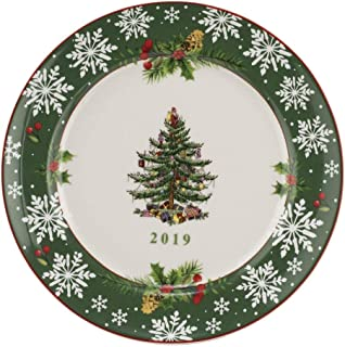 Spode Christmas Tree 2019 Annual Collector Plate 8