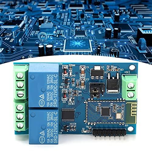 Relé 12V Módulo de relé de doble canal para la aplicación de teléfono móvil IOT Interruptor de control remoto de casa inteligente