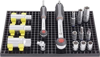 TOOLCRAFT 553943 Set geperforeerde platen 2-delig + 80-delige accessoireset (l x b) 194 mm x 278 mm