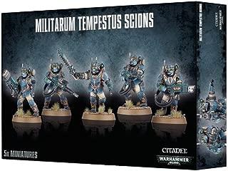 Warhammer 40K Militarum Tempetus Scions by Games Workshop