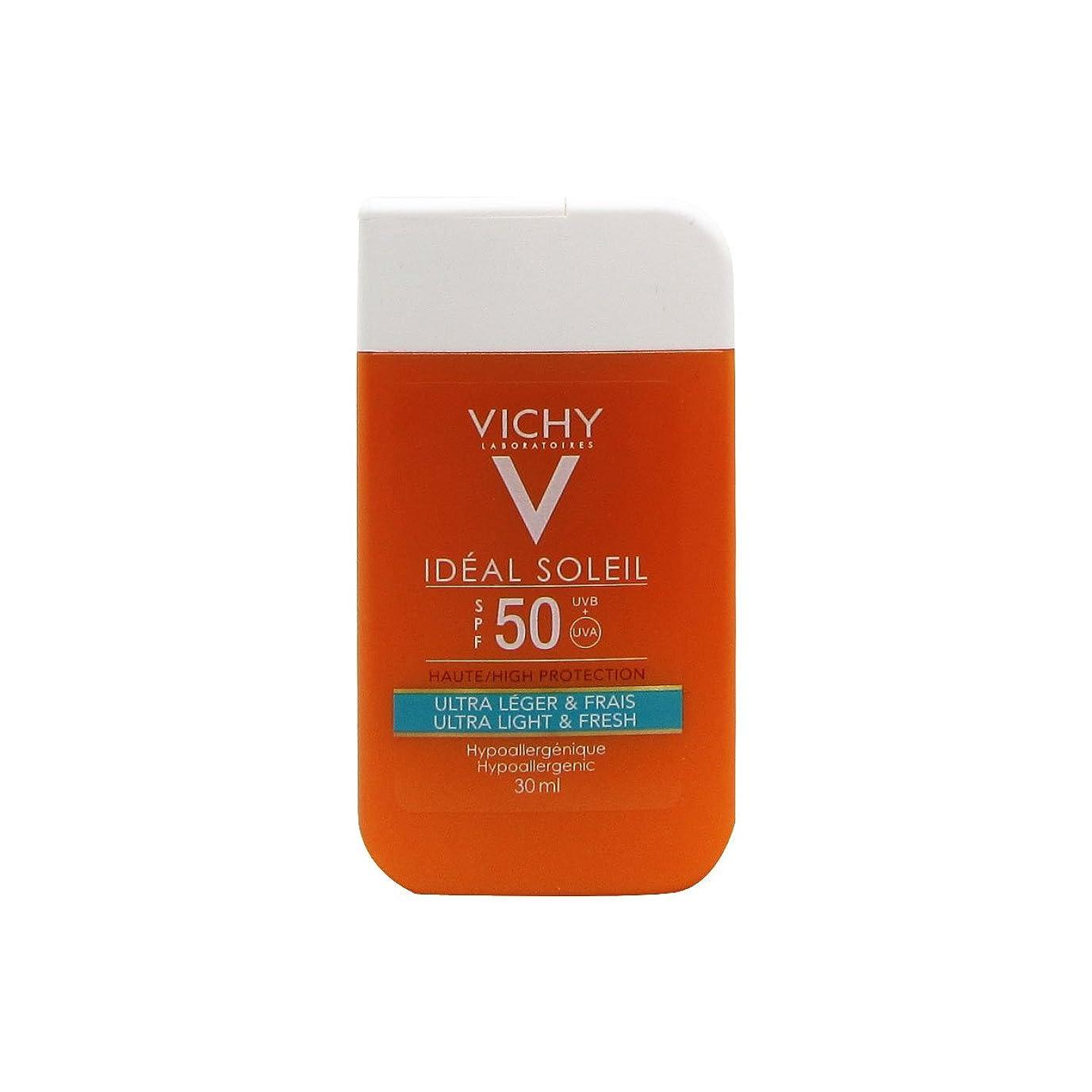 社会科待つ鎮痛剤Vichy Ideal Soleil Mini Pocket Size Ultra Fresh And Light Spf50 30ml [並行輸入品]