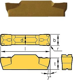 HHIP 6024-3034 MRMN-500-M Grade BPS253-CVD Grooving Insert.197 Cutting Width 1.024 OAL