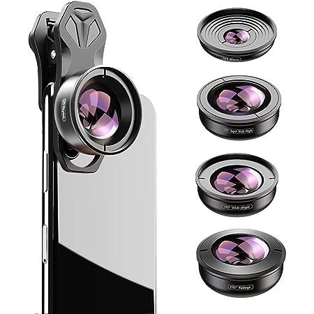 Apexel Hd 5in1 Kameraobjektiv Set 2x Teleobjektiv 170 Kamera