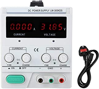Stabilized Voltage Power Supply, Clearly Display Durable High Accuracy Power Supply, Outdoor Daily Life(British standard 2...