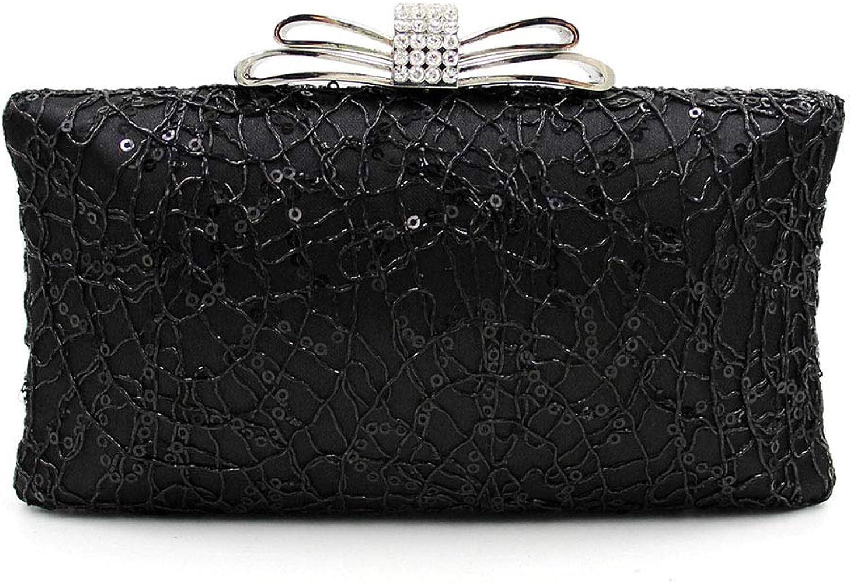 SMILINGGIRL Damen Umhängetasche - - - Diamant, Bogen Mode Abendtasche - Hochzeit Damen Tasche (20  11  4cm) B07KN7S9G2  Für Ihre Wahl 34a3d6