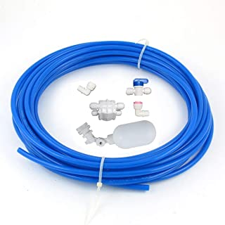 """Malida 1/4"""" Tube Float Valve Kit for RO Water Reverse Osmosis System water filter.."""