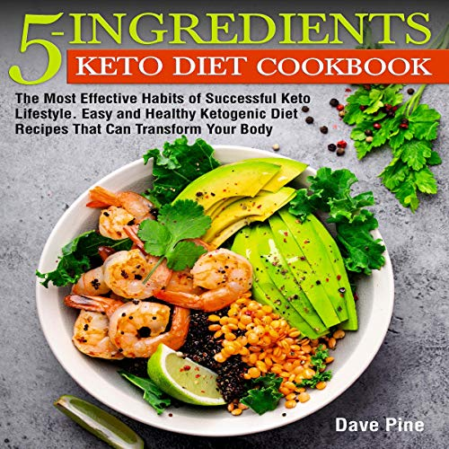 5-Ingredients Keto Diet Cookbook Titelbild