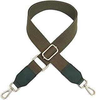 Beacone Wide Purse Strap Adjustable Canvas Crossbody Handbag Shoulder Bag Strap