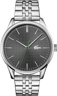 ساعت مچی کوارتز وین مردانه Lacoste با بند استیل ضد زنگ ، نقره ای ، 20 (مدل: 2011073)