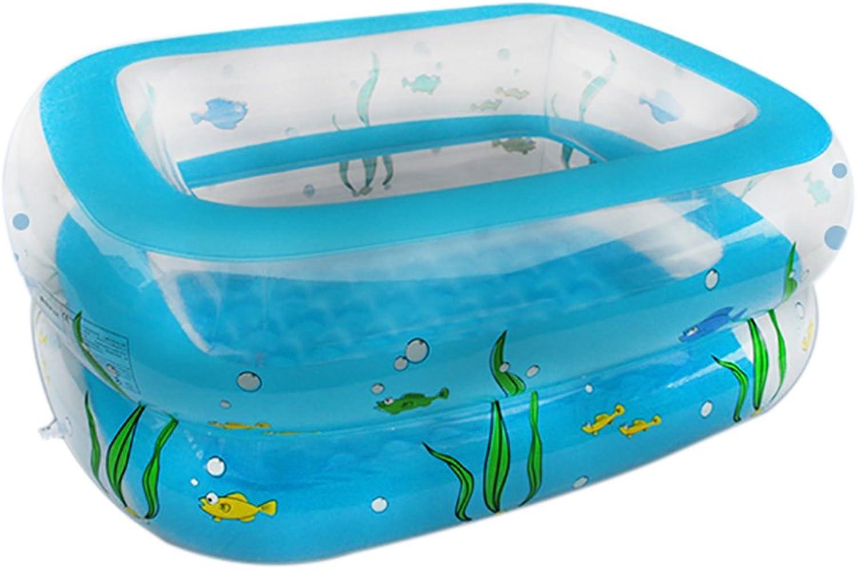Badewanne Aufblasbare Badewanne Rechteckige Pool Infant Planschbecken Bobo Pool Baby Pool 110 CM  90 CM  40 CM Aufblasbare Badewanne