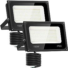 100 Pack of 150 Watt White Floodlight Security Outdoor IP54 Garden Light JOBLOT