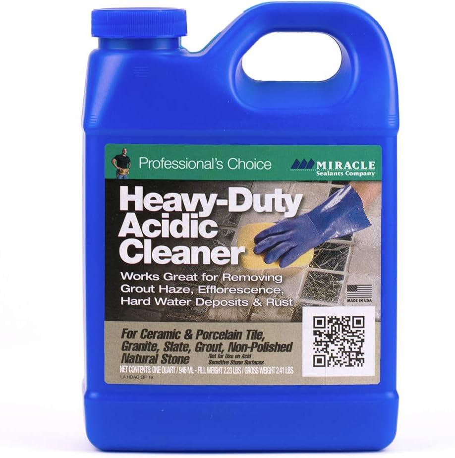 Miracle Save money 5 popular Sealants HDAC6QT Heavy Duty Cleaner Quart Acid