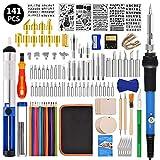 Best Wood Burning Kits - Wood Burning Kit 141pcs, OLSUNOR Soldering Pyrography Pen Review