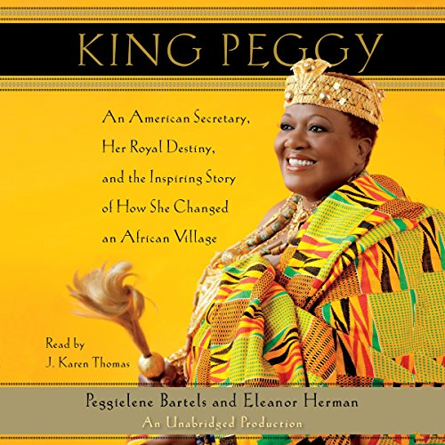 King Peggy audiobook cover art