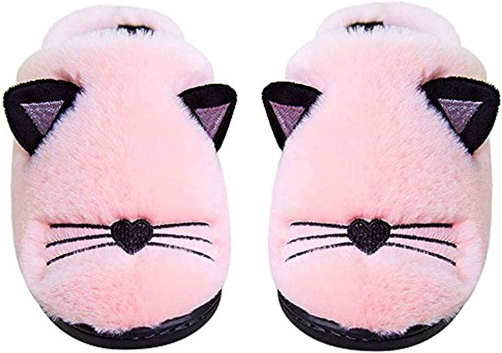 Anddyam Kids Family 5 ☆ very popular Cute Cat Home Sli Indoor SEAL limited product Household Anti-Slip