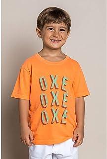 T-SHIRT INFANTIL MASCULINA OXE OXE OXE