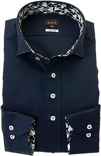 ドレスシャツ ワイシャツ カッターシャツ シャツ STYLE WORKS(スタイルワークス 長袖 ワイドカラー ワイドカラー メンズ 柄シャツ 派手シャツ|RWD124-154 [154-L]