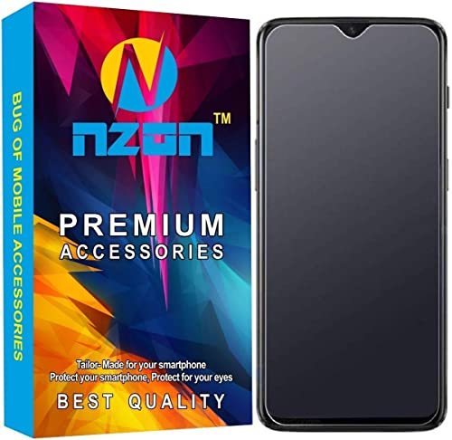 nzon Design for Vivo Y12 Tempered Glass Matte Finish Screen Protector Guard Front Side Full Coverage Anti Glare Anti Fingerprint Bubble Free Vivo Y12 Matt Glass