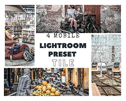 4 Preset per Lightroom Mobile (Italian Edition)