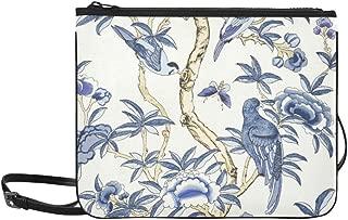 Giselle Blue And White T Collection Imperi Pattern Custom High-grade Nylon Slim Clutch Bag Cross-body Bag Shoulder Bag