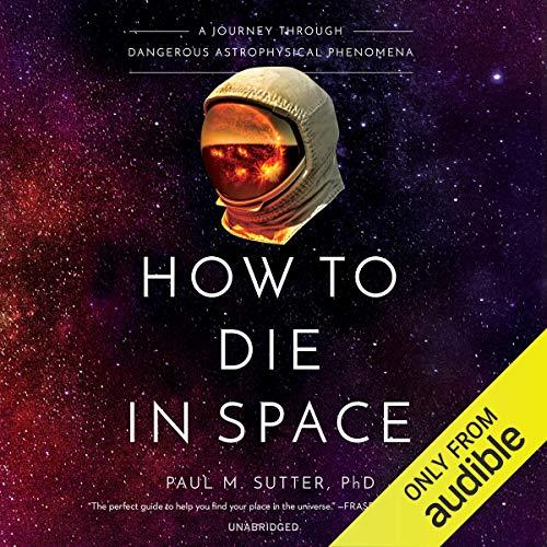 How to Die in Space audiobook cover art
