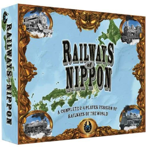 Eagle Games FRD102119 Railways of Nippon, Mehrfarbig