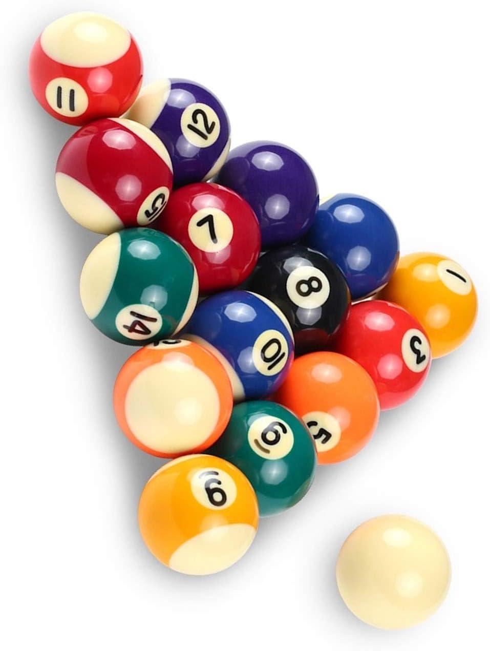 IINSSDJ Small Pool Cue Sales results No. 1 1 year warranty Balls Table Full Set Billiards