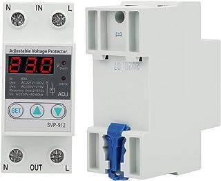SVP-912 Onder overspanningsbeveiliging, spanningsbeschermende voltmeter Instelbare herstelbeveiligingsrelais Spanning Appa...