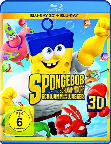 SpongeBob Schwammkopf - Schwamm aus dem Wasser (+ Blu-ray) [2D and 3D Blu-ray]