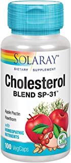 Solaray Cholesterol Blend SP-31 | Herbal Blend w/Homeopathic Nutrients to Help Support Healthy Heart Function | Non-GMO | ...