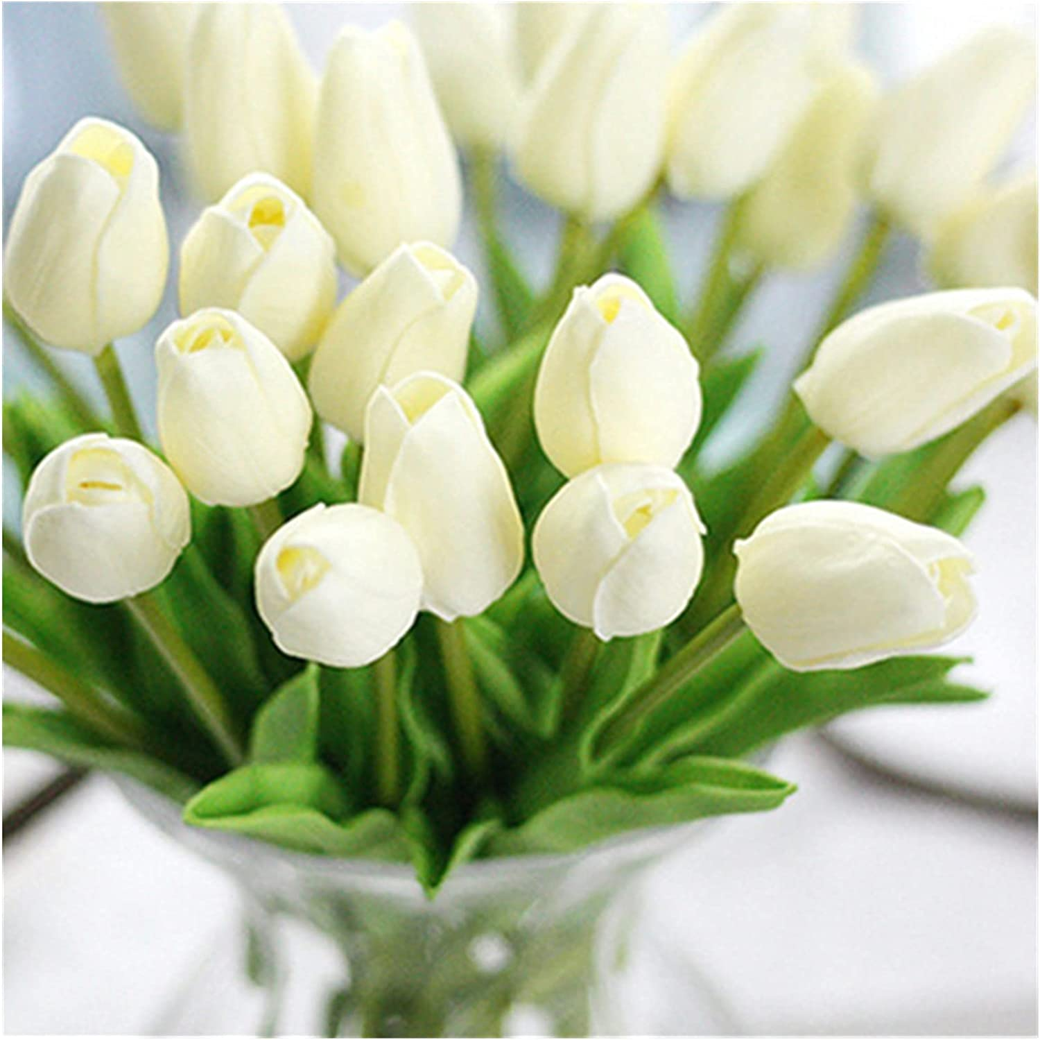 XIAOXUANMY Artificial Nashville-Davidson Mall Flowers 10pcs PU Super beauty product restock quality top Tulips